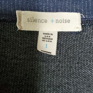 silence + noise Sweaters - UO Silence + Noise Blue Cowl Neck Tunic Sweater